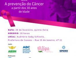 Prevenção do Câncer a partir dos 30 anos de idade